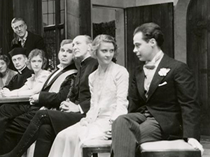 Peg in the 1931 play<br /> called Getting Married